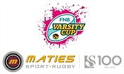 FNB VARSITY CUP 2019: MATIES RUGBY