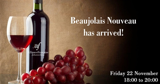 Beaujolais Nouveau at the Alliance Française Joburg