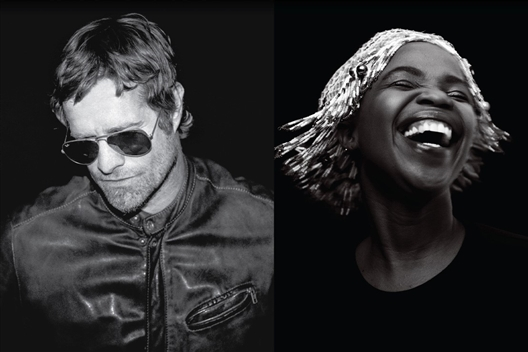 Arno Carstens and Zolani Mahola at Stanford Hills Estate