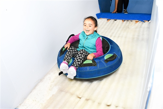 Canal Walk's Frozen Fun Slide Park