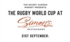 The Rugby World Cup at Simons